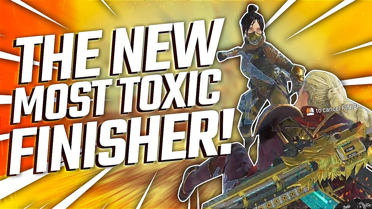 THE NEW MOST TOXIC FINISHER IN APEX LEGENDS | TSM Diego