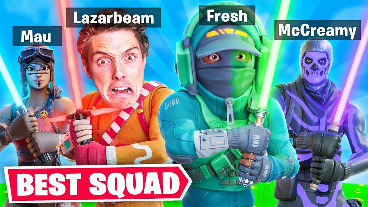 THE BEST JEDI SQUAD IN FORTNITE??