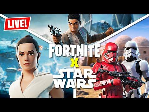 FORTNITE *STAR WARS* LIVE EVENT!! (Fortnite Battle Royale)