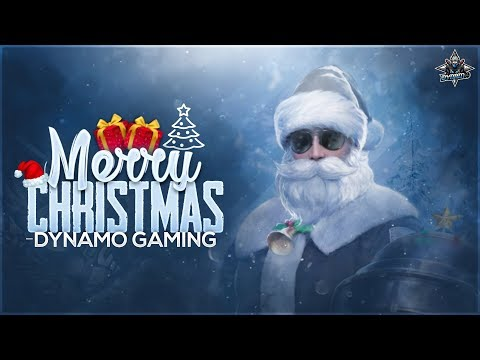PUBG MOBILE LIVE WITH DYNAMO | 🎄 MERRY CHRISTMAS 🎄 | ROAD TO 6 MILLION FAMILY